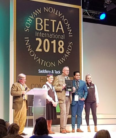Pic-Ha Pad winning at BETA 2018